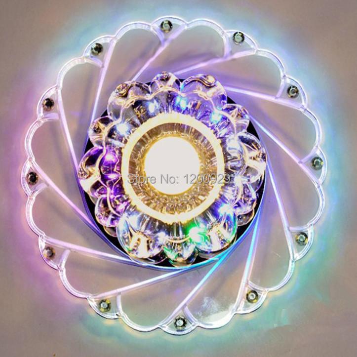 Wonderland 2015 New Crystal Acrylic Ceiling Light Elegant Colorful Lustres Luxury Aisle/Living Room Creative Modern Lamp D-21(China (Mainland))