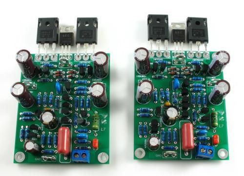 Sep_store (DIY KIT) LJM L7 MOSFET high speed FET power amplifier 2 channel amp kit CL-191<br><br>Aliexpress