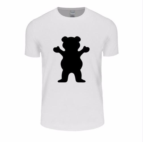 GRIZZLY GRIP Diamond Supply T-Shirt Men/Women Hip Hop Skateboard T Shirt Short Sleeve 100% Cotton Tops Tees Casual Man's Tshirt