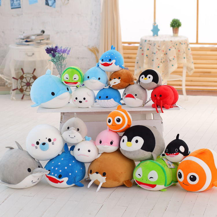 New Hot Sale 20cm Tsum Finding Nemo Dory Bailey Destiny Hank Mr. Ray Plush Particle Stuffed Animals Toys For Children Gifts(China (Mainland))
