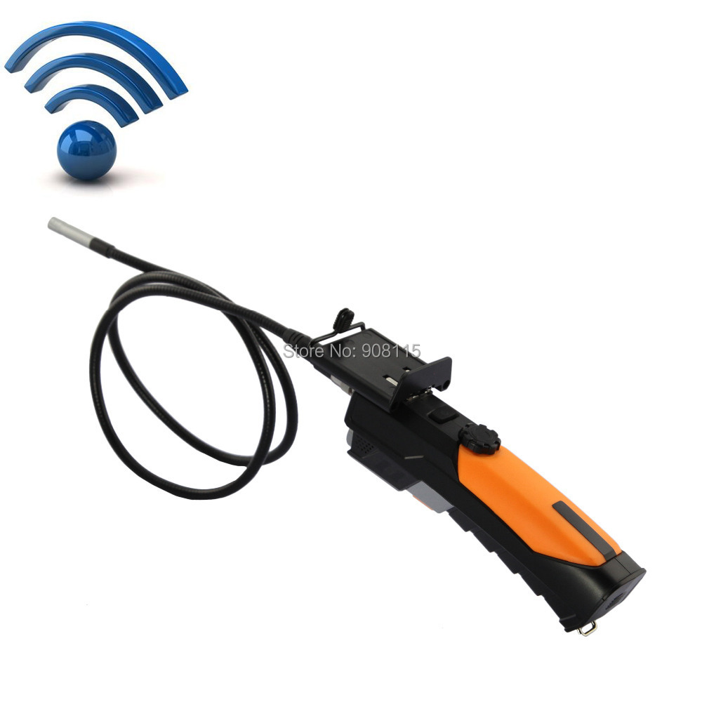 DBPOWER WIFI Wireless Camera Endoscope Borescope inspection Camera 2.4Ghz WITH 1M Cable 8.5mm Lens Industrial Endoscope(China (Mainland))