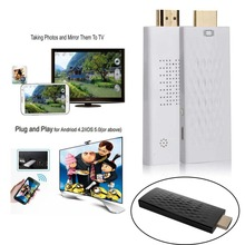 Miracast Wifi Display Dongle HDTV Stick HDMI ETV Stick airplay Wireless Share Push Receiver Adapter for IOS Android Smartphone(China (Mainland))