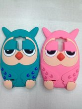 G3 Case 3D Cute Cartoon Owl Soft Silicone Rubber Cover LG D855 Protective - BYHeYang Digital Store store