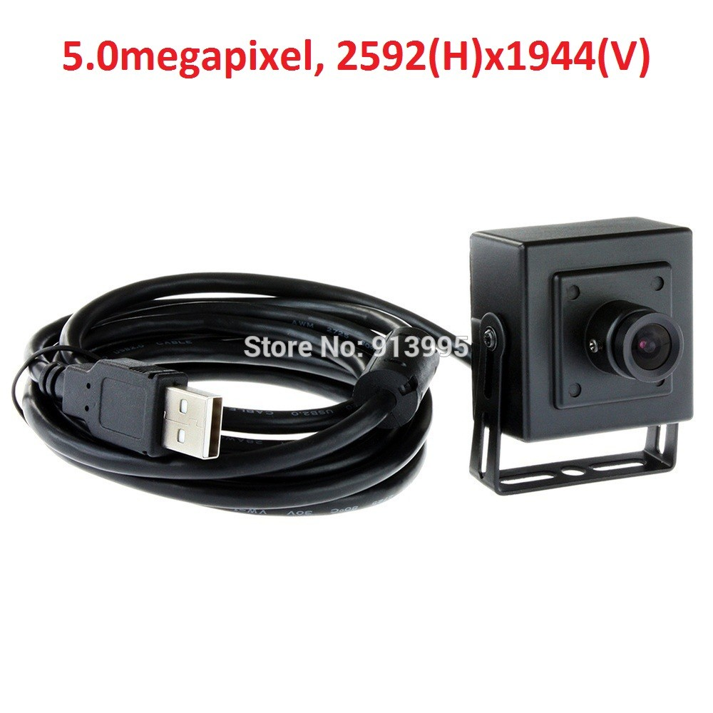 ELP 2016 best new 12mm lens CCTV 5mp cmos mini  box USB Webcam mini camera for ATM, video conference,kiosk Camera <br><br>Aliexpress