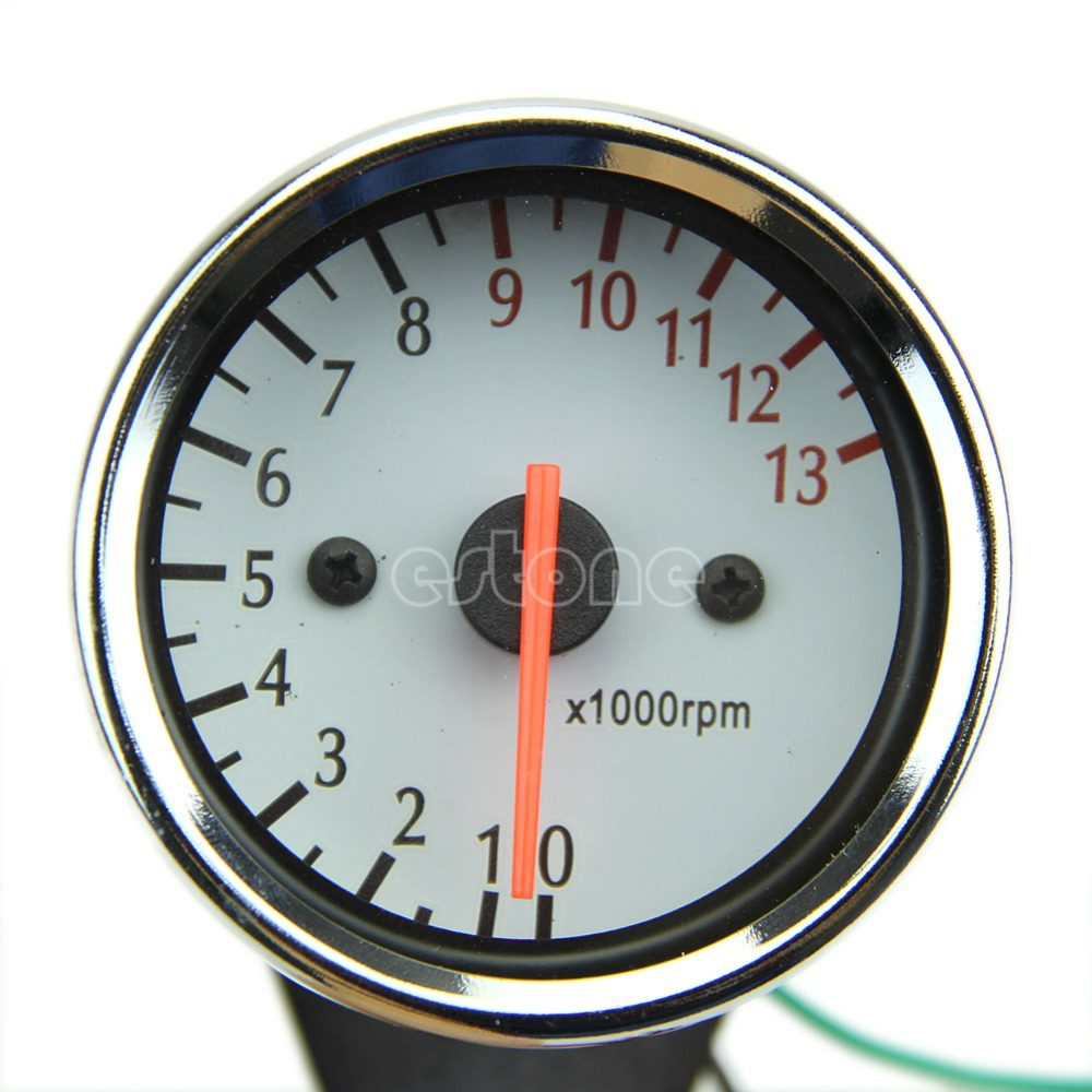 Z101 inchUniversal Mechanica 13000RPM Scooter Analog Tachometer Gauge Motorcycle - Julia's 2014 store