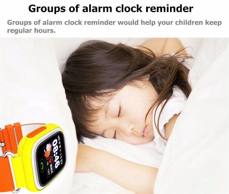 image for Original Kids GPS Tracker Q90 Touch Screen WIFI Baby Smart Watch Phone