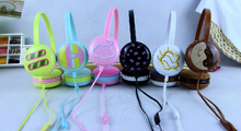 2016 Newest Girls KEEKA KE-900 Lovely Headset Macaroon Kids Gift Colorful Headphone with Microphone for Mobile Phones Halloween