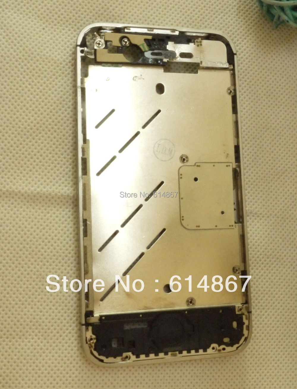 Midframe Middle Plate Board iPhone 4 4G Original Frame Chassis MOQ:1 - New Oriental Int'L Co.,Ltd Shop store