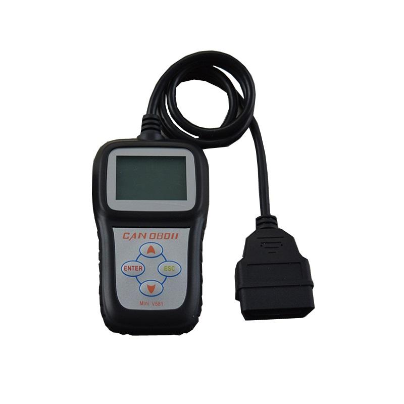 Mini V581 Obd1 Scanner Updated CAN OBDII/EOBDII Code Reader Obd2 Scan(China (Mainland))