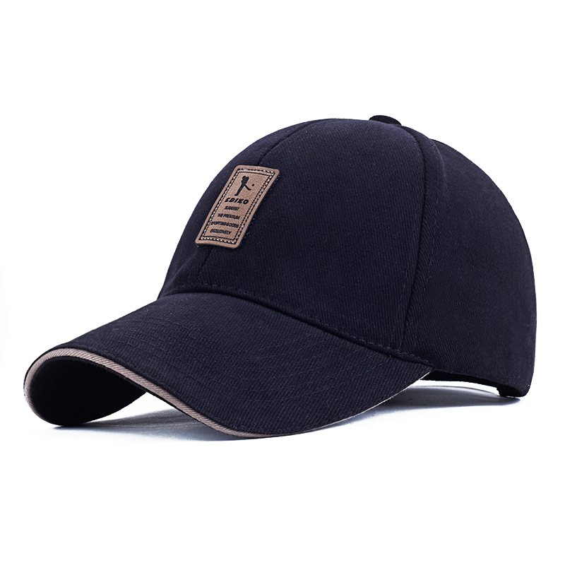 EDIKO And Golf Logo Cotton Baseball Cap Sports Golf Snapback Outdoor Simple Solid Hats For Men Bone Gorras Casquette Chapeu(China (Mainland))