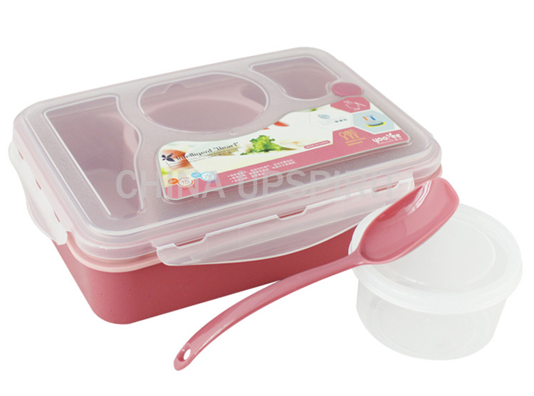 microwave lunchbox plastic sealed bento box 4 compartments bento lunch box se. Black Bedroom Furniture Sets. Home Design Ideas