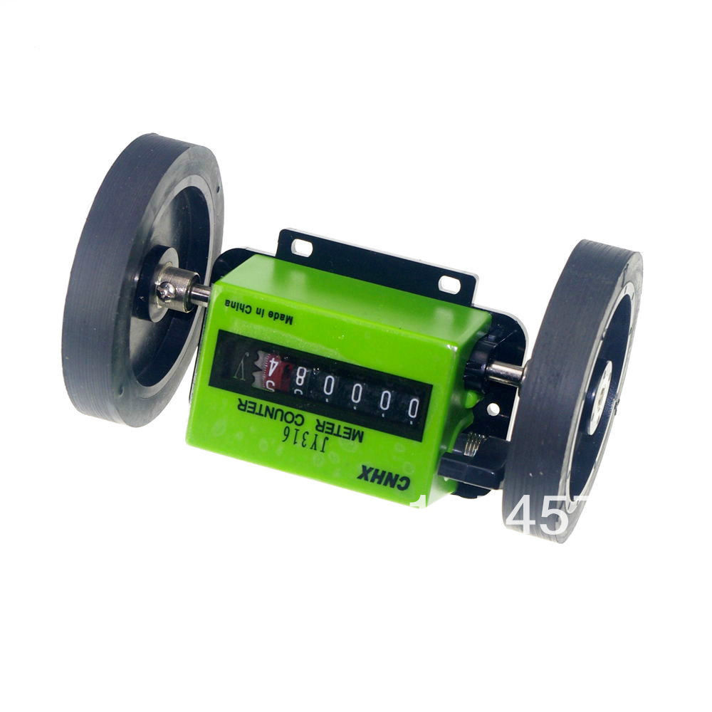 Meter Counter Rolling Wheel Mechanical Length Counter<br><br>Aliexpress