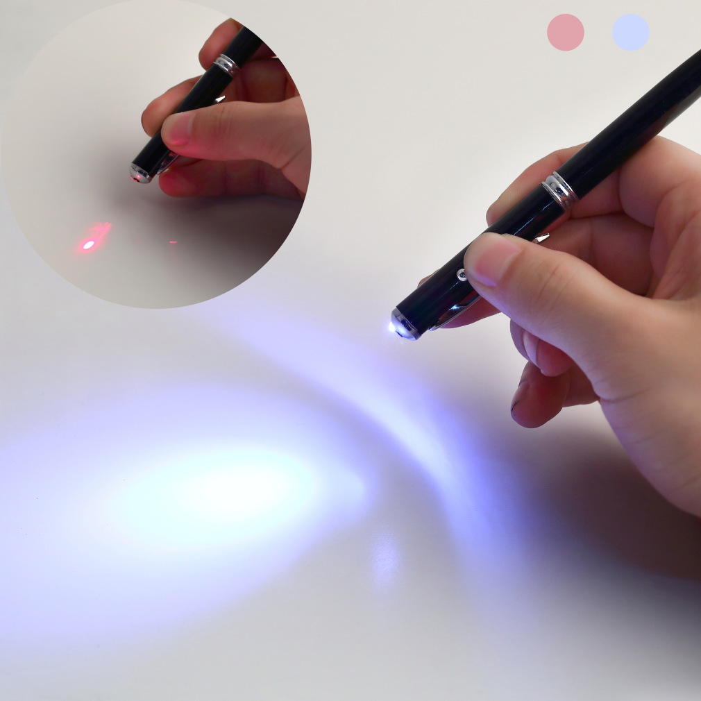5 pcs 4 in 1 Laser Pointer LED Torch Touch Screen Stylus Ball Pen for iPhone Drop Shipping Wholesale(China (Mainland))