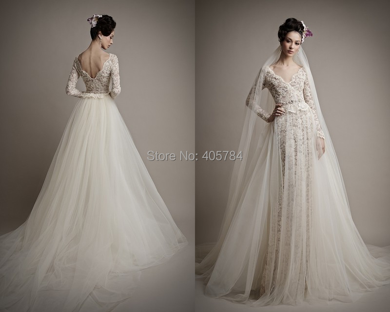 Wedding Dresses With Removable Sleeves 70