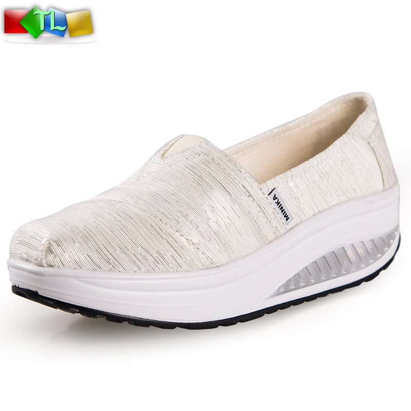 Swing Loss weight Fashion canvas shoes Top quality Wedge sneakers Women casual Tenis feminino High platform sneakers X500<br><br>Aliexpress