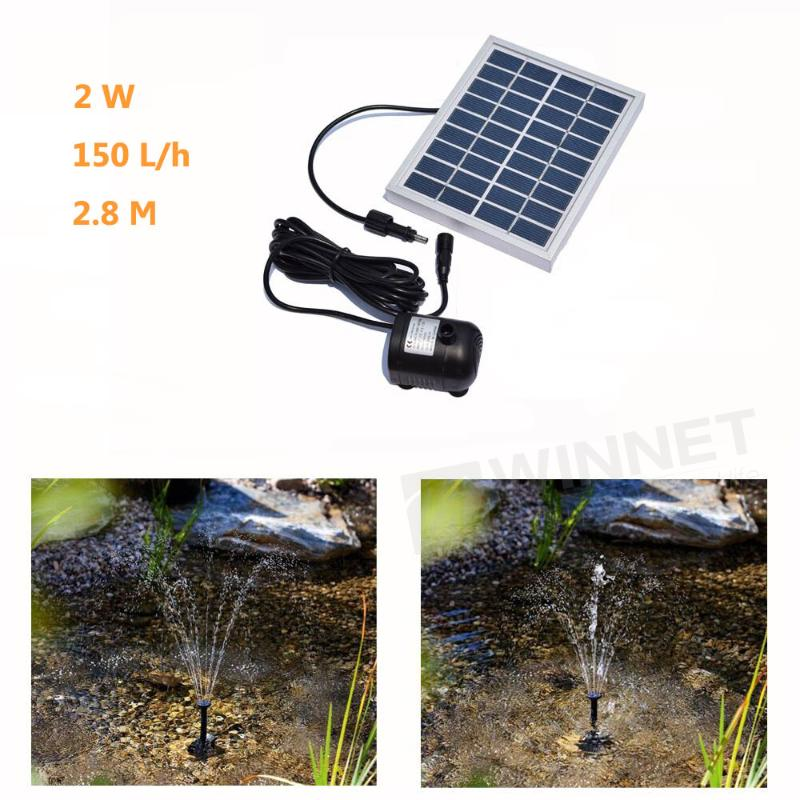Promoci n de sumergibles luces estanque solar compra for Kit estanque jardin