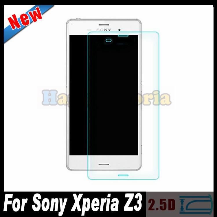Защитная пленка для мобильных телефонов 2 /2.5d 0,3 Sony Xperia Z3 L55T защитная пленка для мобильных телефонов sony xperia z3 5 2 sony xperia z3