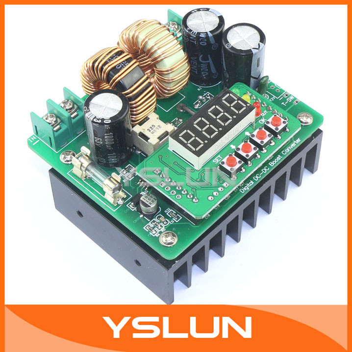 CNC Boost Power Supply DC 6V~40V to 8V~80V 9.99A 400W constant current constant voltage Battery Charger Module #090104<br><br>Aliexpress