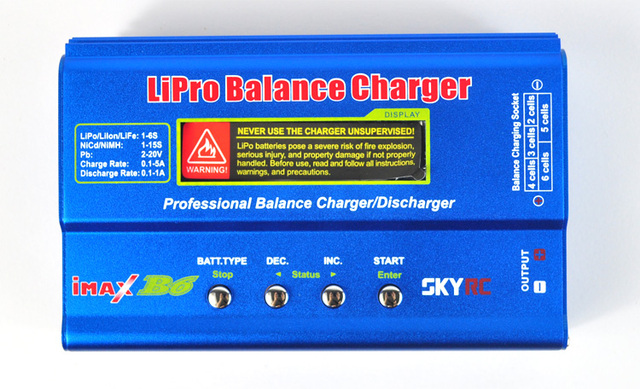 100% SKYRC iMax B6 Digital LCD RC Lipo NiMh Battery Balance Charger FOR RC Heli RC Car Battery do not with Power Supply