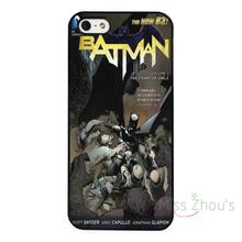 For iphone 4/4s 5/5s 5c SE 6/6s 7 plus ipod touch 4/5/6 back skins mobile cellphone cases cover Vintage DC Comic Batman