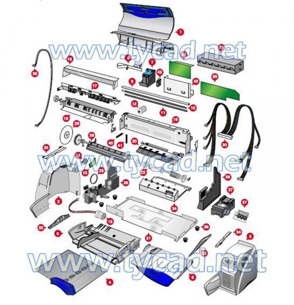 hp 1040 fax user manual
