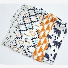 Baby Harem Pants Cartoon&Geometry Printed Boys Girls Pants Toddlers Children Pants Clothing 2016New Designer(China (Mainland))