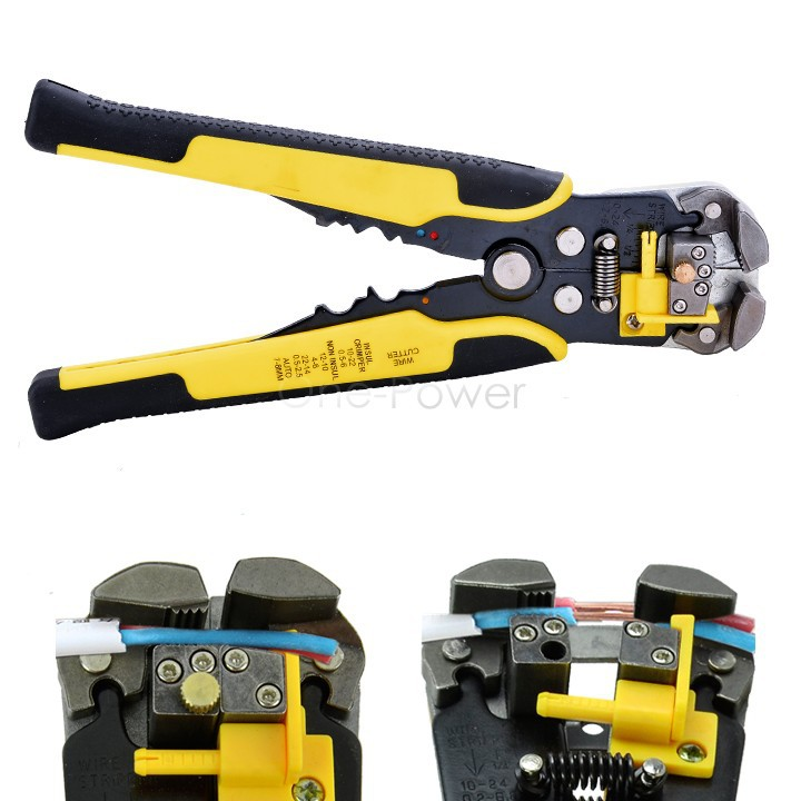 Fashion 3 in 1 Automatic Cable Wire Stripper Crimping Stripping Plier Self Adjusting Crimper Terminal Cutter Tools 25(China (Mainland))