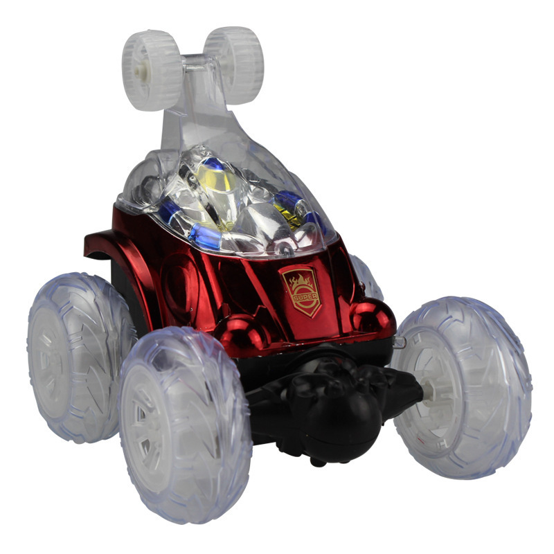 Toy Remote Control Cars For Boys : Musical flashing remote control car with stunt degrees