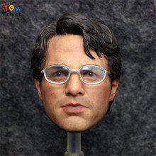 1/6 scale Mark Ruffalo Dr. Bruce Banner Hulk Head Sculpt Model DIY Accessories Toy Action Figure Body 12″ Doll
