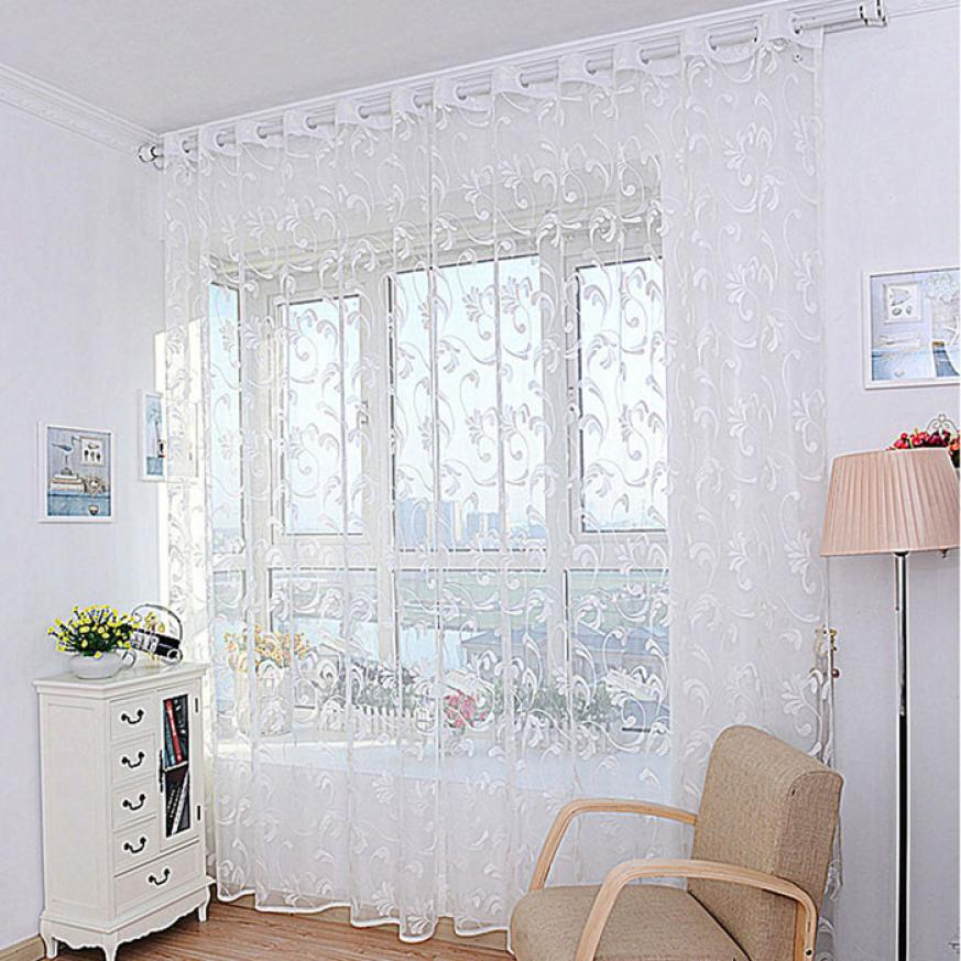 French lace curtains promotion shop for promotional french for Tende in voile