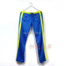 Brand men s home wear trousers long sexy sports pants casual fashion gym sport exercise badminton