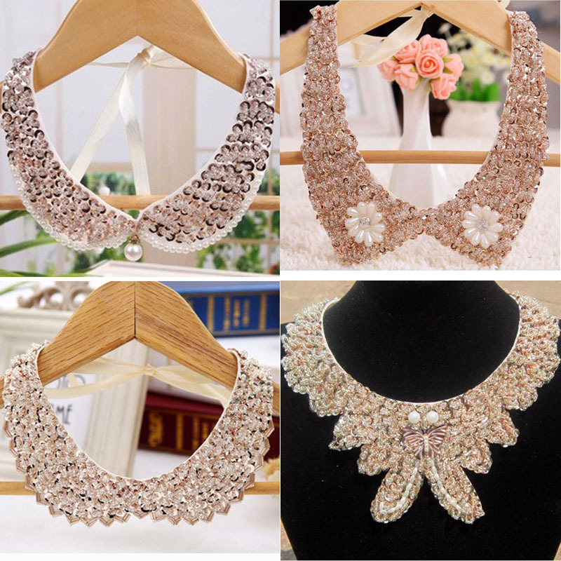 2015 trendy fashion collier femme necklace glass beads steam punk necklaces & pendants jewelry accesories luxury for lover gift(China (Mainland))