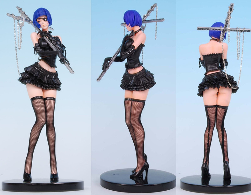 sexy girls anime resin figures rare editions nude sex figure doll 1/6 poly resin Adult gk Meng Cross 309(China (Mainland))