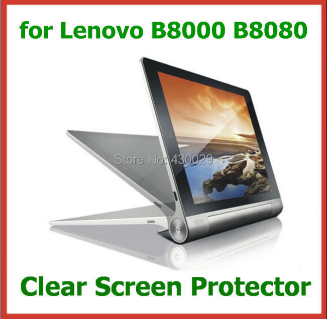 Transparent Screen Protector Protective Film 10.1 inch Tablet PC Lenovo YOGA B8000 B8080 NO Retail Package Size 259x160mm - Billy Zeng store
