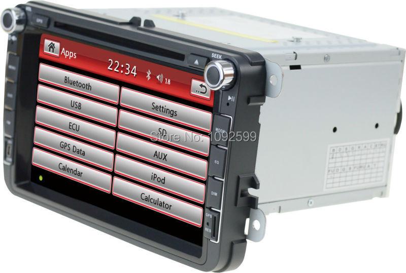 EZONETRONICS VW JETTA Passart B6 GOLF6 TRANSPORTER TIGUAN Car DVD GPS Navigation Radio Car Stereo USB