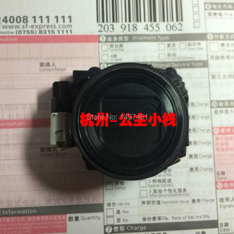 Silver/Black/Red!Original zoom lens unit For Nikon Coolpix S9200/S9300 For Casio EX-ZR700/ZR800 Digital camera without CCD(China (Mainland))