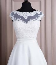 2016 vendite calde!  Tulle bianco con appliques serbatoio da sposa bolero nuziale giacca da sposa in pizzo scrollata di spalle(China (Mainland))