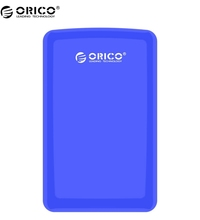 "Buy ORICO 2579S3-BL New Tool Free SATA 3.0 2.5"" USB3.0 External Hard Drive Enclosure/Case 9.5mm 7mm SATA HDD / SSD- Blue for $14.99 in AliExpress store"