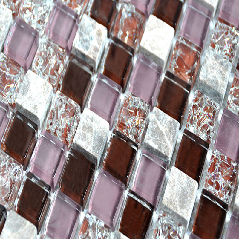 11PCS sparkle Mosaic Tiles stickers 3D crystal glass stone mosaic tile design art bathroom wall pools crafts patterns AD801009(China (Mainland))