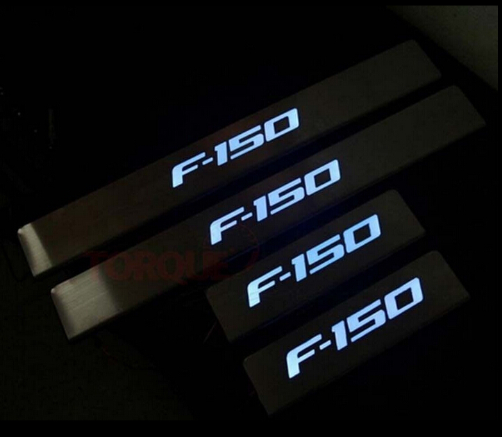 Ford F150 Illuminated Door Sills