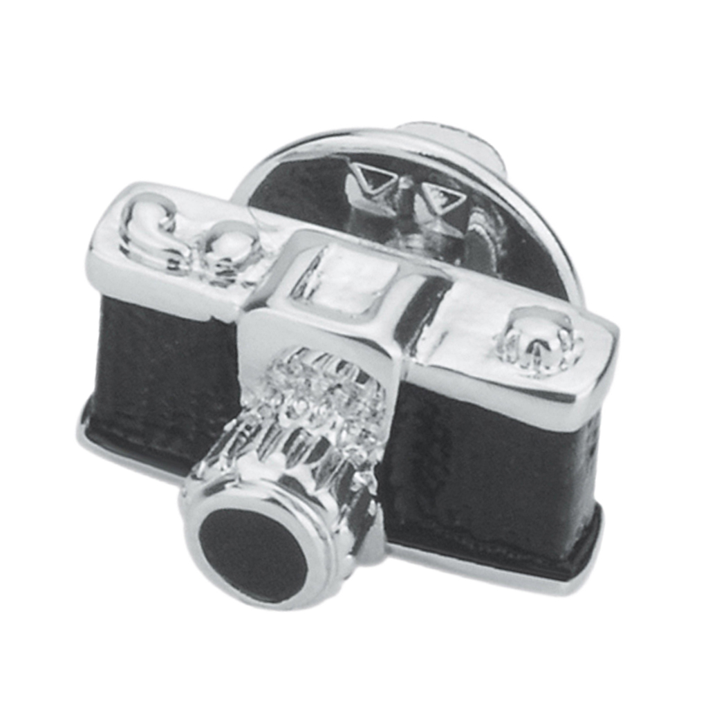 Black Retro Camera Brooch Jewelry Men and Women Suit Corsage Pin Collar Pin