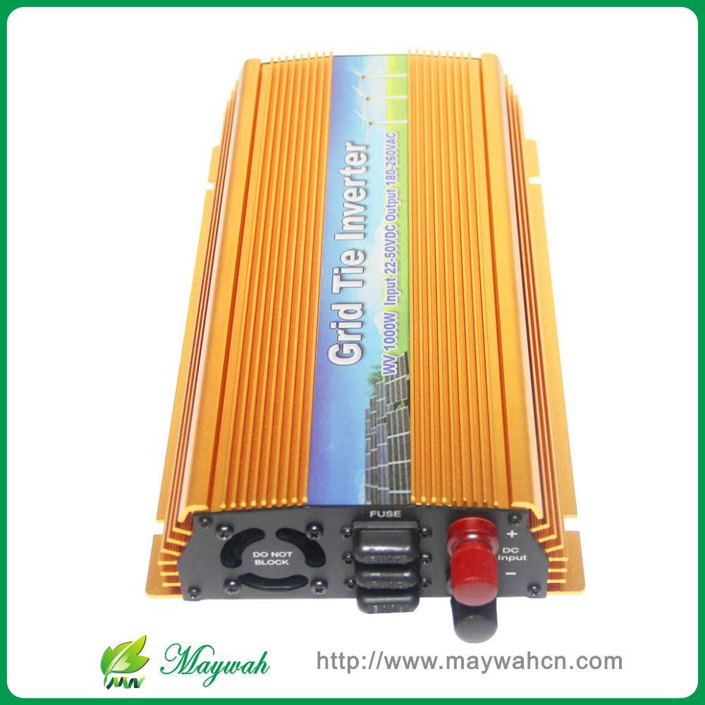 22-50VDC 1000W solar grid tie inverter with MPPT PV on Grid Inverter, Output 90-140V.50hz/60hz, For Alternative Energy(China (Mainland))