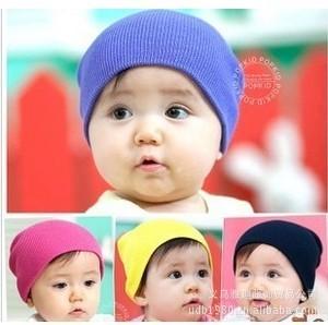 Spring and autumn cotton knit baby caps children Hat headgear Korea website synchronization(China (Mainland))