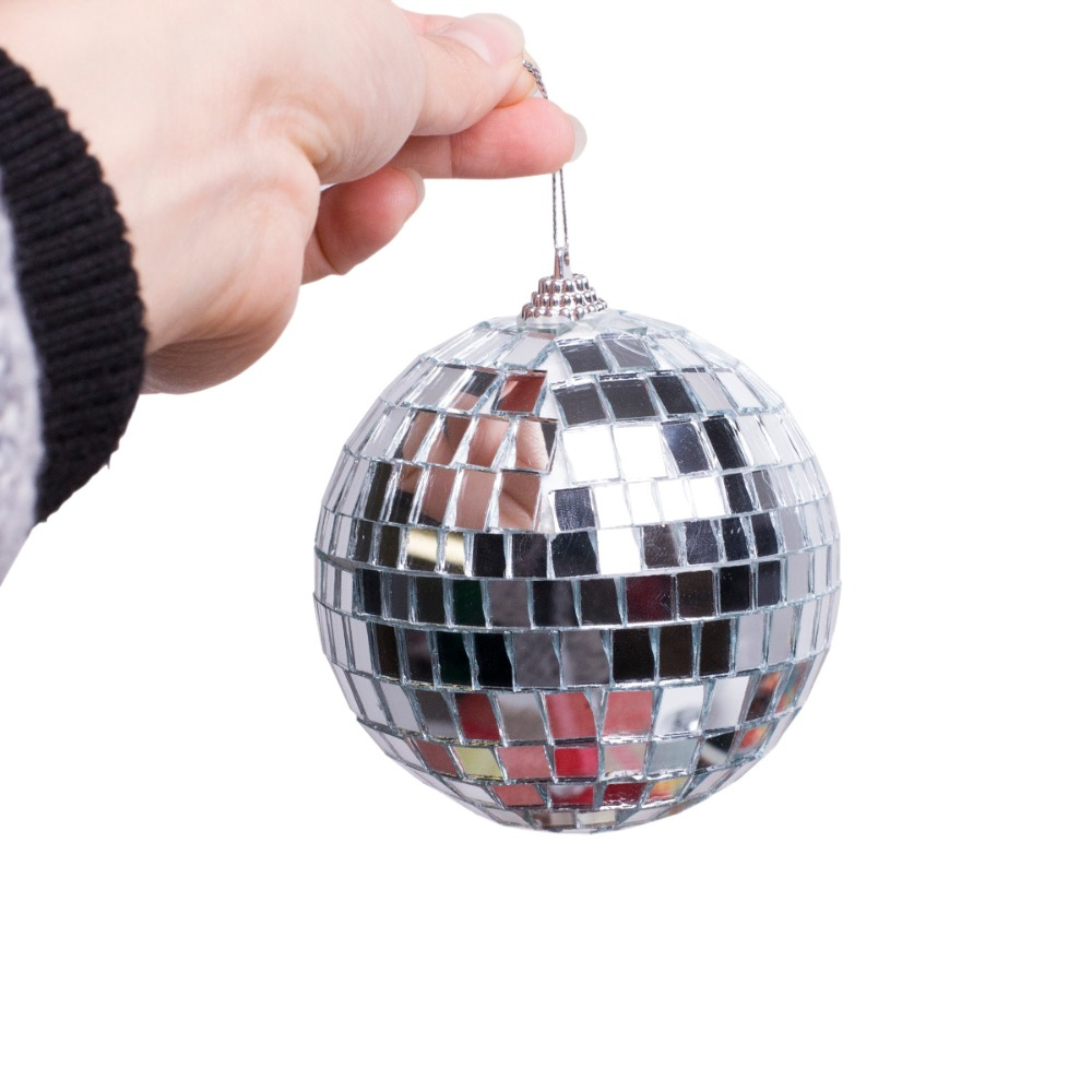 2016new 1pc christmas decor balls bar mirror balls for Ball balls christmas decoration