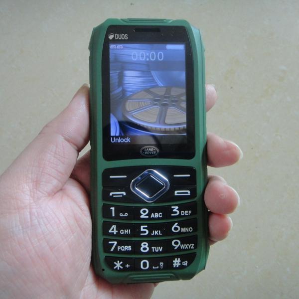 XP8 Waterproof Phone With IP67 Dual SIM Card MP3 Big Speaker 2.4Inch Shockproof Dustproof Phone (Can Add Russian Keyboard)(China (Mainland))
