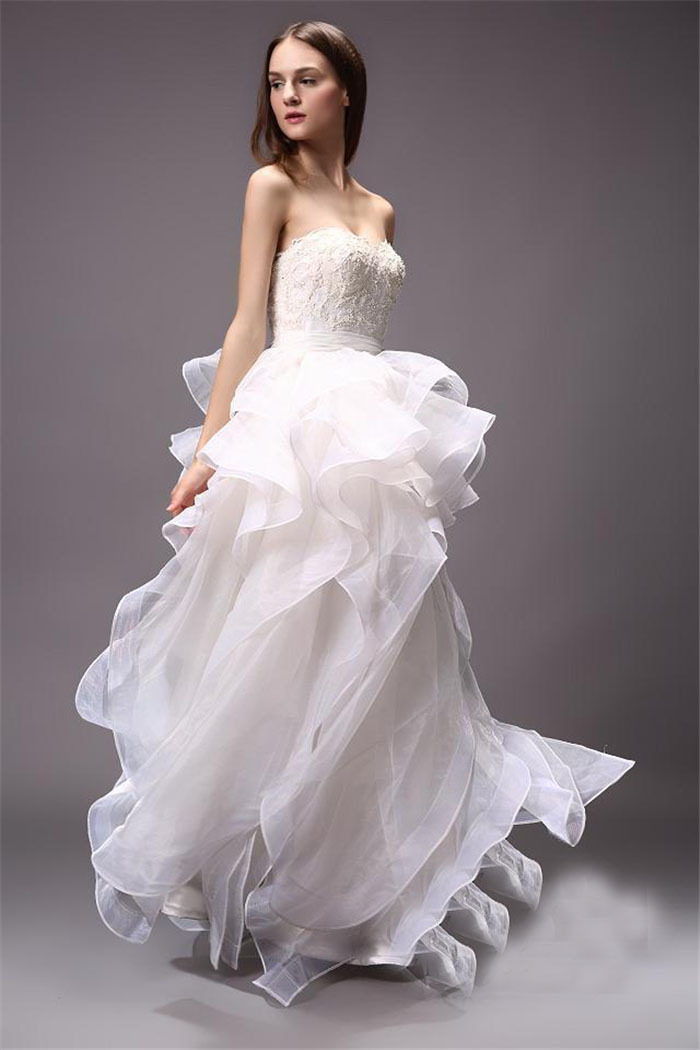 Aliexpress Buy 2015 Hot Sale Actual Photos Elegant Off The Shoulder Organza Ball Gowns