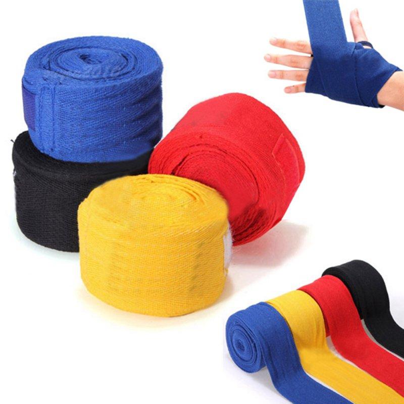1 Pair 2.5m Boxing Handwraps Bandage Punching Hand Wrap Boxing Training Gloves Training Wrist Protect Fist Punch(China (Mainland))