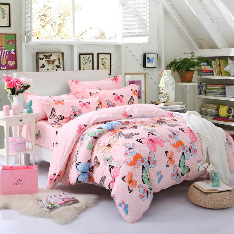 Popular Kids Butterfly Bedding Buy Cheap Kids Butterfly Bedding Lots From China Kids Butterfly