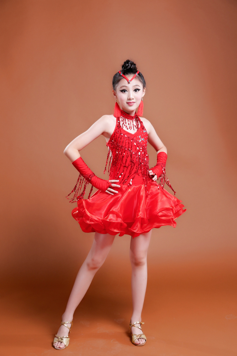 DB24027 latin dance dress-17