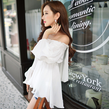 Dabuwawa romantic off shoulder blouse